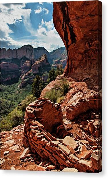 Boynton Canyon 08-160 Canvas Print