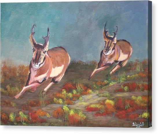 Boys.... Canvas Print by Bill Werle