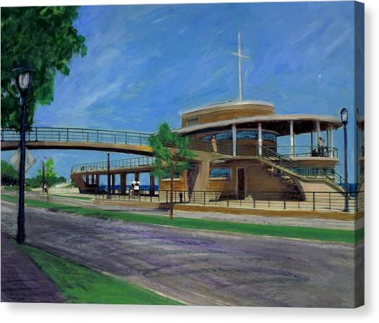 Bradford Beach House Canvas Print
