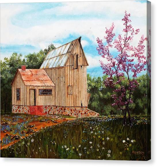 Bradford's Barn Canvas Print