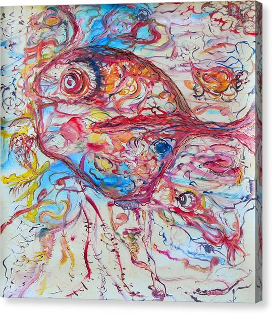 Abstracted Fish Canvas Prints Page 33 Of 100 Fine Art America
