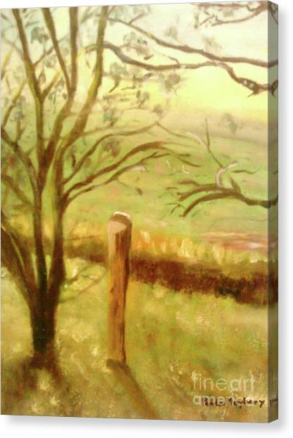 Brampton Valley Way Canvas Print