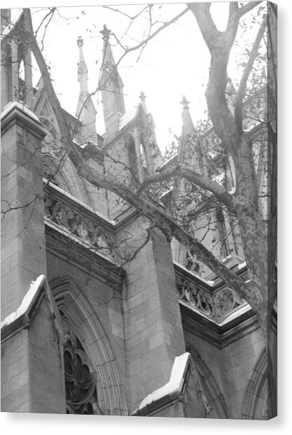 Branches Of Prayer Canvas Print by Kate Collins