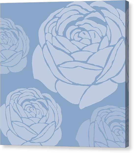 Rose In Bloom Canvas Print - Brandon Rose by Sarah Hough