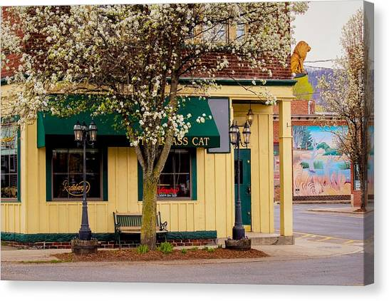 Brass Cat Pub Easthampton Canvas Print