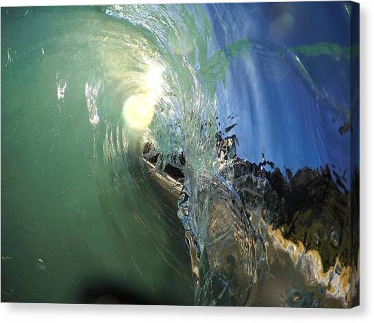 Bodyboard Canvas Print - Brass Monkey by Benen  Weir