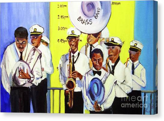 Brass Of  Class New Orleans Canvas Print