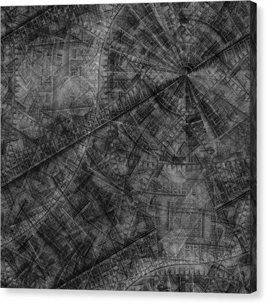 Brass Rubbing A Dream Canvas Print by Ian Duncan Anderson