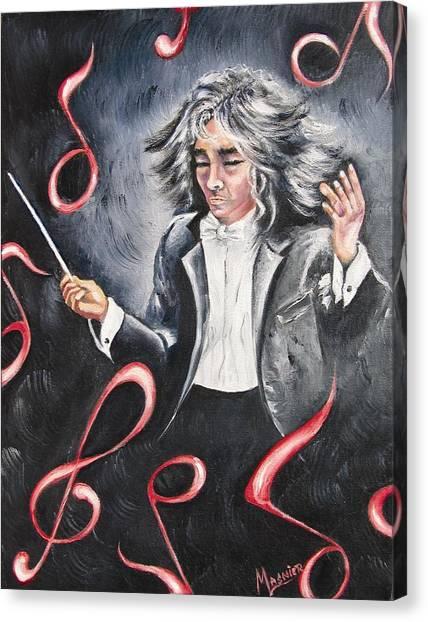 Bravissimo  Canvas Print by Madeleine Lasnier
