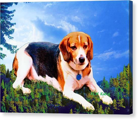 Bravo The Beagle Canvas Print