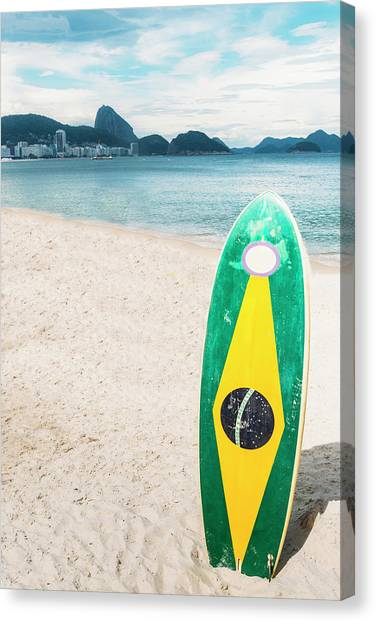 Brazilian Standup Paddle Canvas Print