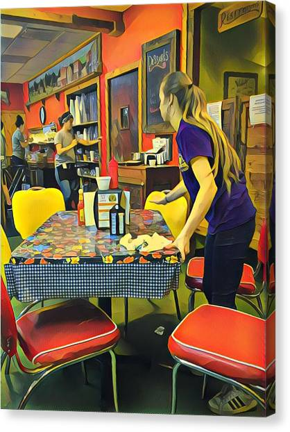 Breakfast In Wimberley Canvas Print