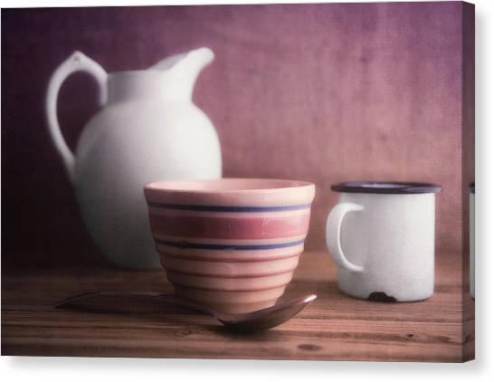 Pitchers Canvas Print - Breakfast Still Life by Tom Mc Nemar