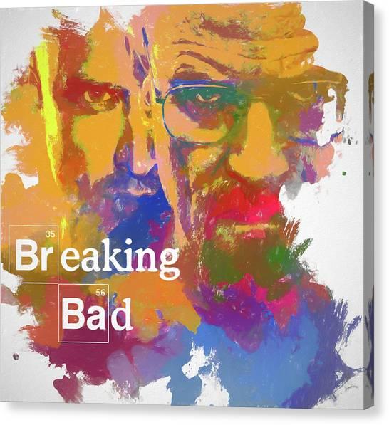 Dea Canvas Print - Breaking Bad Watercolor by Dan Sproul