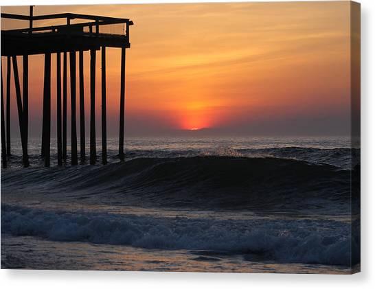 Breaking Sunrise Canvas Print