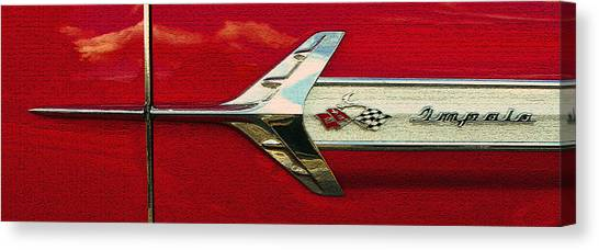 Breaking Sound Barrier Canvas Print - Breaking The Sound Barrier by David Lee Thompson