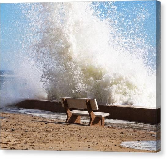 Breaking Wave Canvas Print