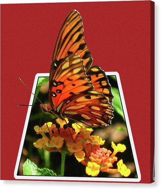 Canvas Print - Breakout Butterfly by Elijah Knight
