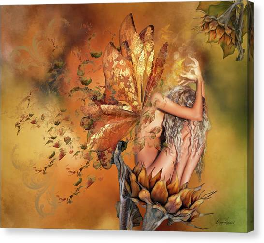 Breath Of Autumn Canvas Print