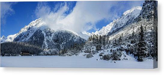 Lucky Canvas Print - Breath Of God Upon Snow Mountain by Lucky Chen