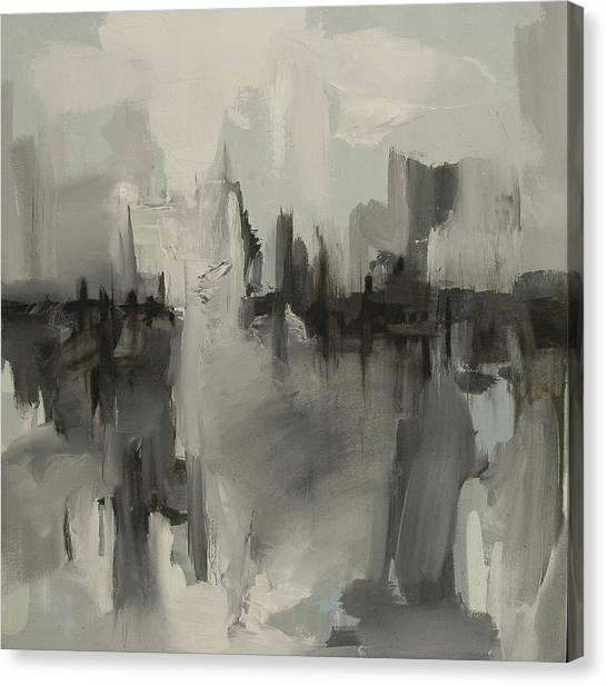 Breath Of Space Canvas Print by Liz Maxfield