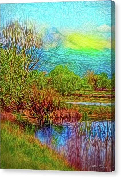 Breath Of Sunrise Canvas Print