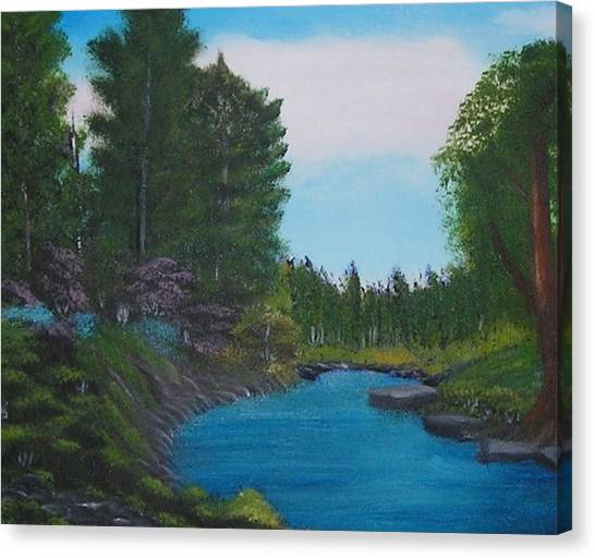 Breathless Canvas Print by Allison Prior