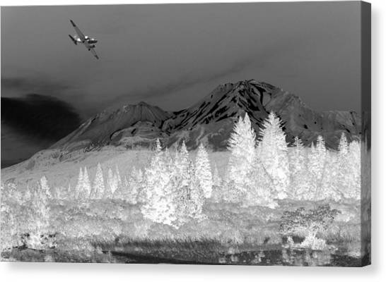 Breathtaking In Black And White Canvas Print