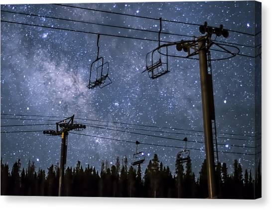 Breckenridge Milky Way Canvas Print