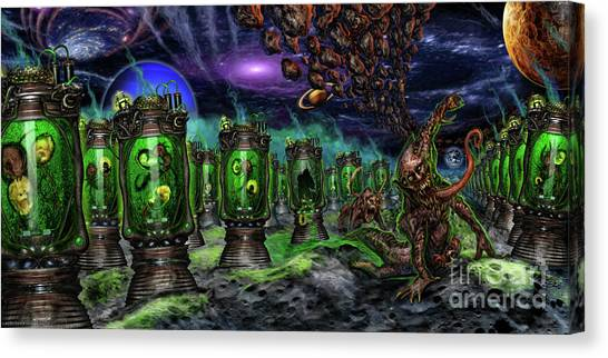Breeding On Other Lands Canvas Print