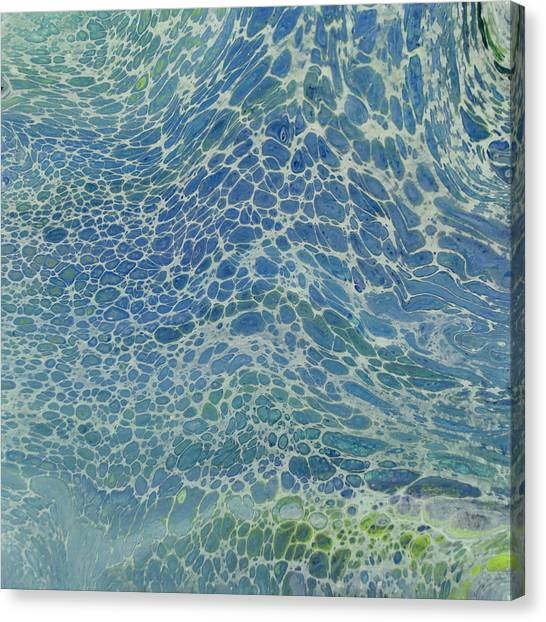 Breeze On Ocean Waves Canvas Print