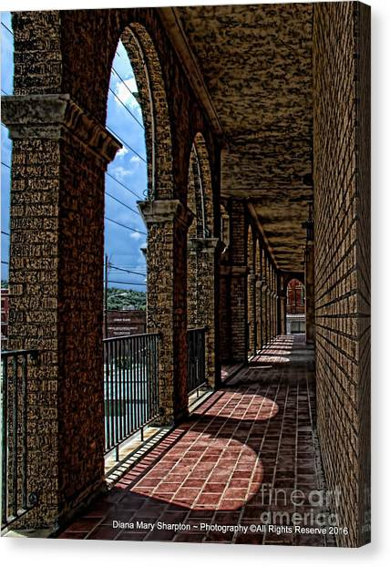 Breezway On The Baker Canvas Print