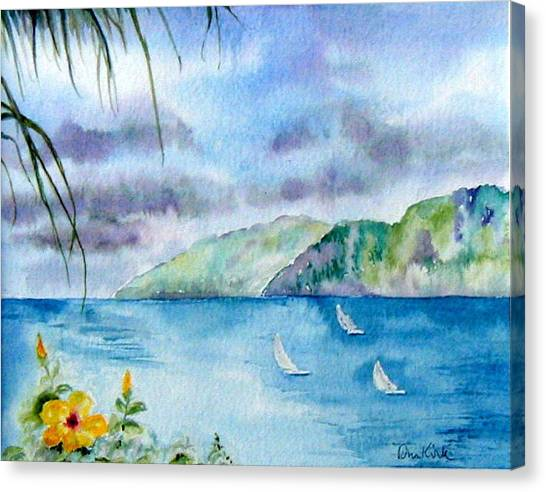 Breezy Afternoon Canvas Print