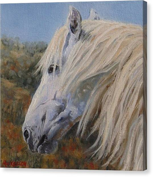 Breezy Canvas Print by Debra Mickelson