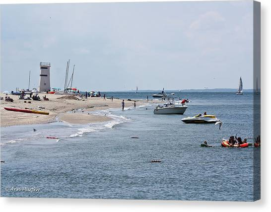 Breezy Point Lighthouse Canvas Print
