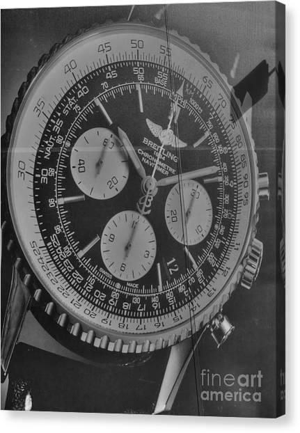 Breitling Chronometer Canvas Print