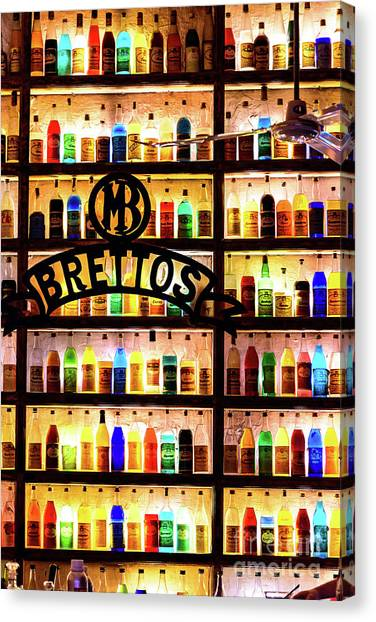 Brettos Bar In Athens, Greece - The Oldest Distillery In Athens Canvas Print
