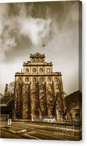 Brewery Canvas Print - Brewery Building by Jorgo Photography - Wall Art Gallery