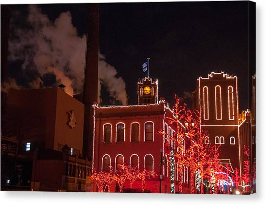 Brewery Lights Canvas Print
