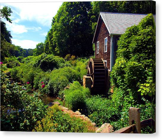 Brewster Gristmill Canvas Print
