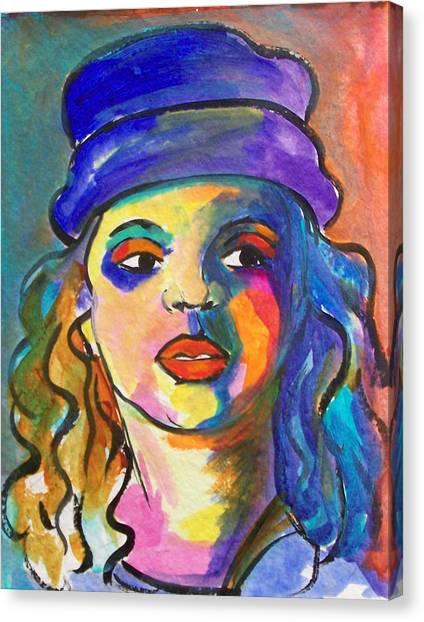 Canvas Print - Brianna by MtnWoman Silver