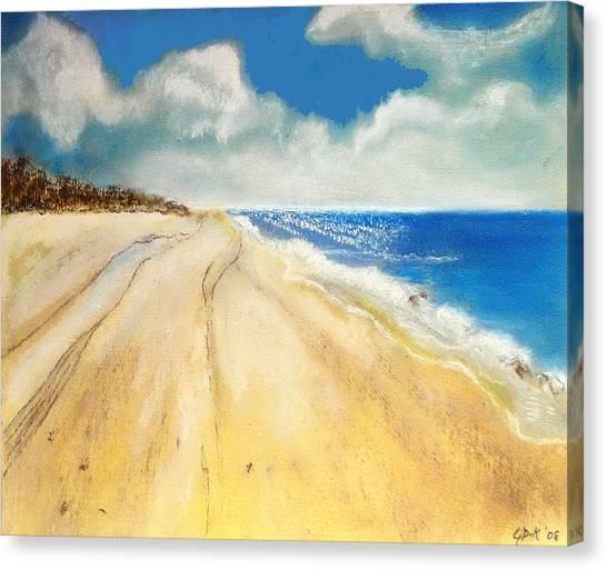 Bribie Island Canvas Print