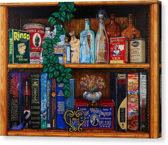 Canvas Print - Bric Brac And Browse by Rich Travis