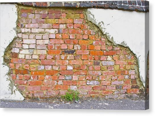 Brick And Mortar Canvas Print