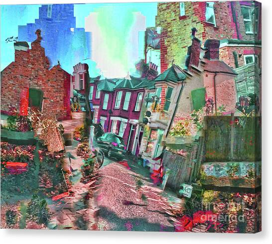 Bricks And Mortar Canvas Print