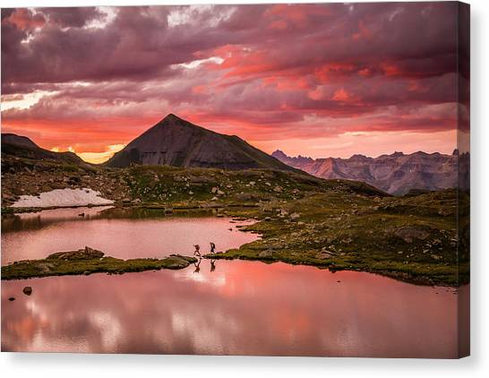 Bridal Veil Basin 2 Canvas Print