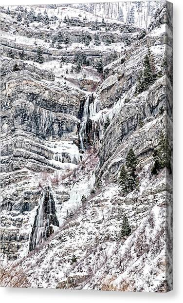 Bridal Veil Falls Canvas Print,photographic Print,art Print,framed Print,greeting Card,iphone Case,s Canvas Print