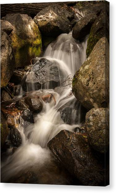 Bridal Veil Water Canvas Print
