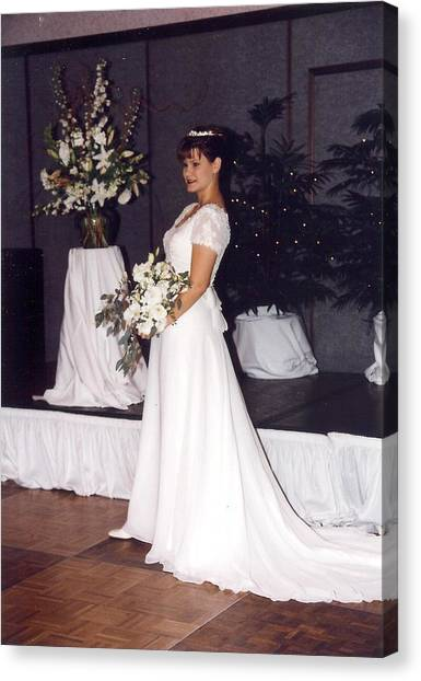 Wedding Gown Canvas Prints (Page #12 of 15) | Fine Art America