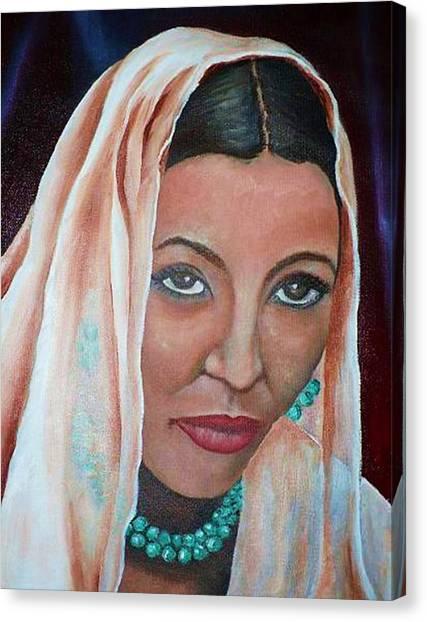 Brideprice Canvas Print by Alima Newton